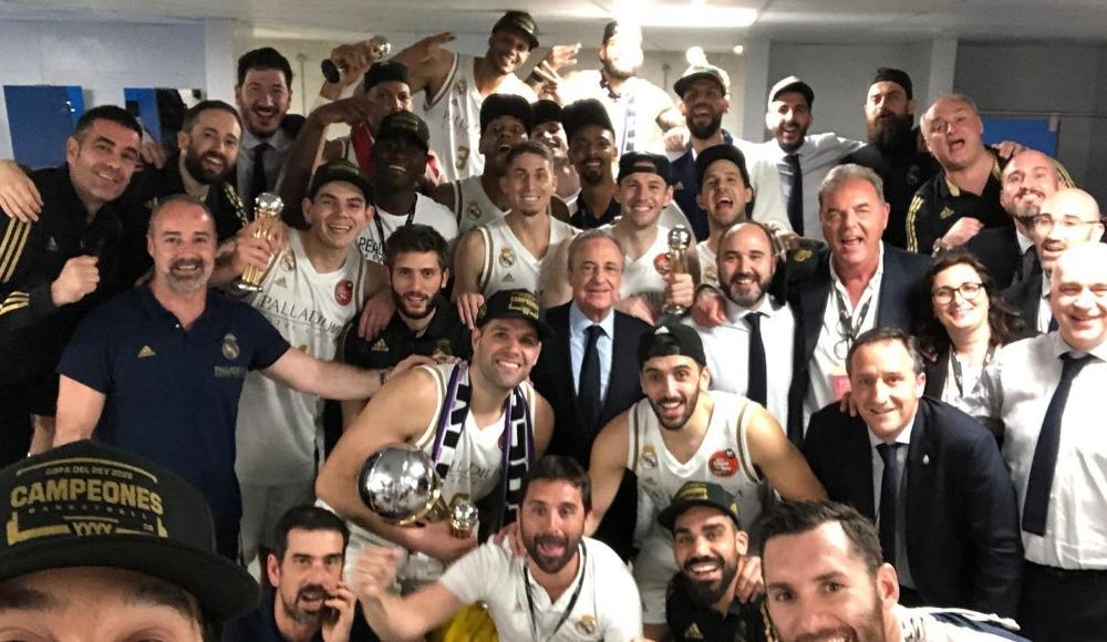 İspanya basketbolunda Kral Kupası'nı Real Madrid kazandı!