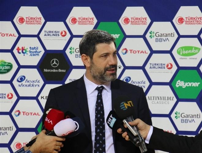 """TBF Genel Koordinatörü Onan: """"En hazır şekilde Hollanda maçına çıkacağız"""""""