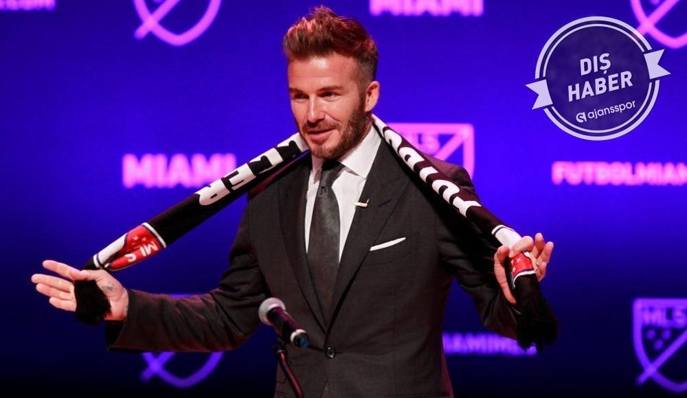 Beckham'ın takımı Inter Miami'ye Katar'dan dev sponsorluk!