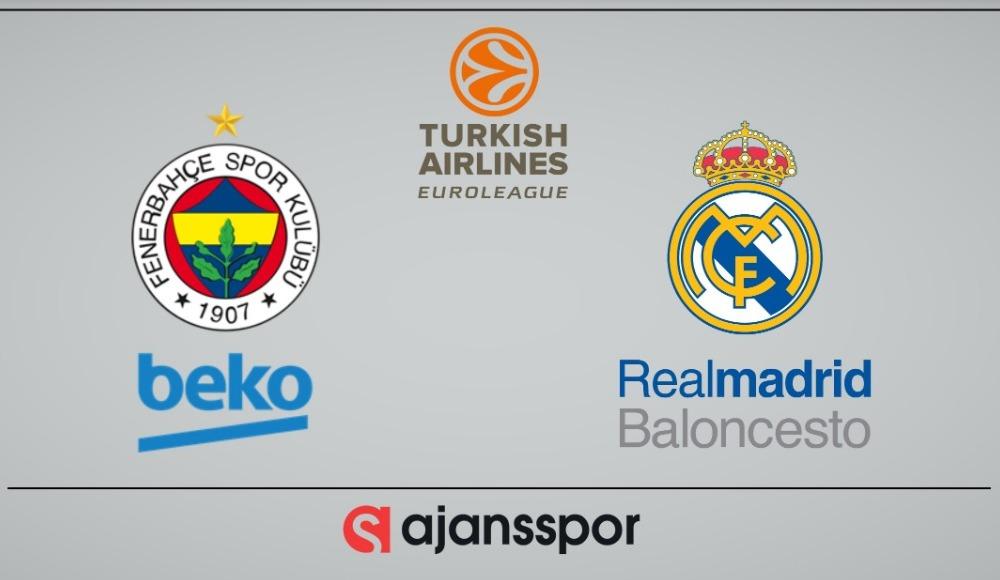 Fenerbahçe Beko - Real Madrid (Canlı Skor)