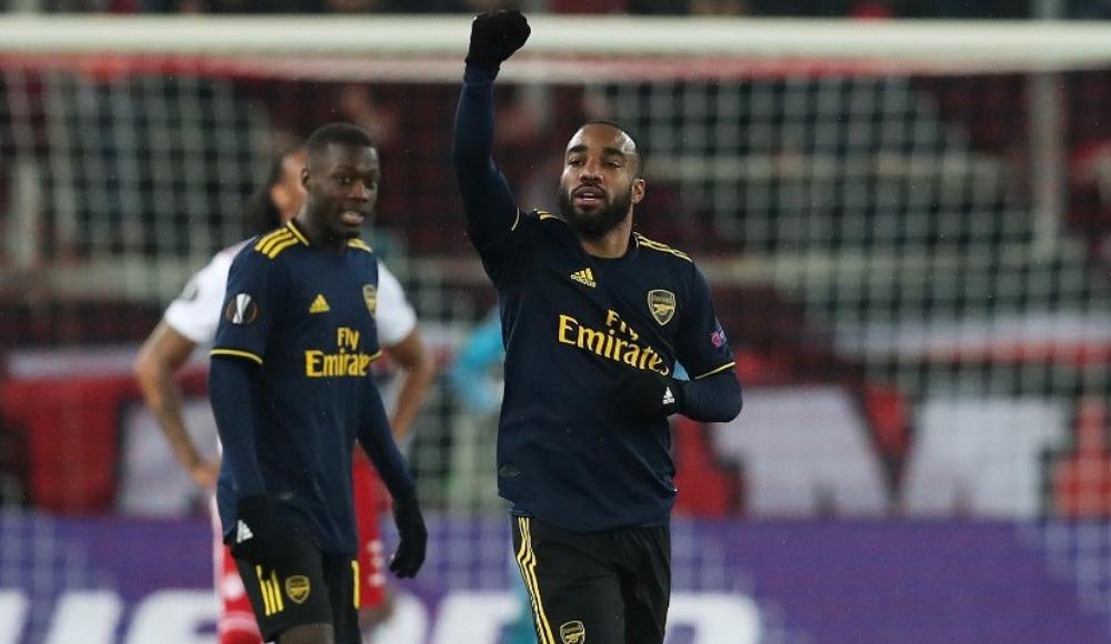 Arsenal deplasmanda avantajı aldı!