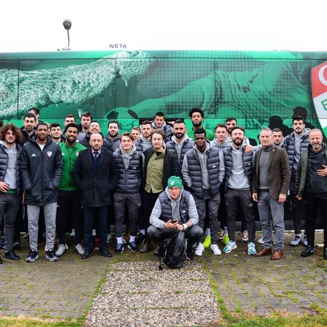 Bursaspor'un Erzurumspor maç kadrosu belli oldu