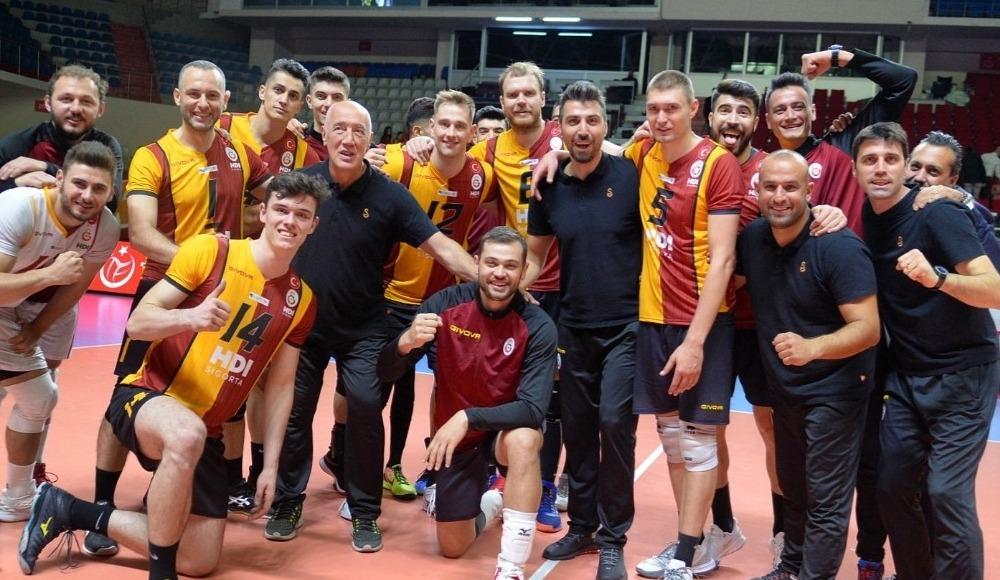 Galatasaray HDI Sigorta, deplasmanda Spor Toto'yu 3-0 yendi
