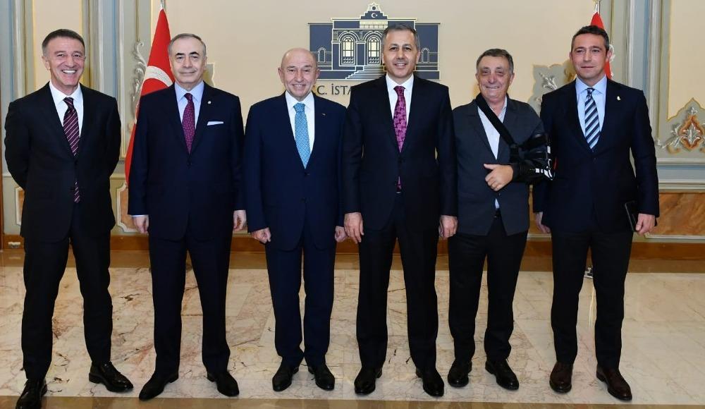 Ali Koç ile Mustafa Cengiz ne konuştu?