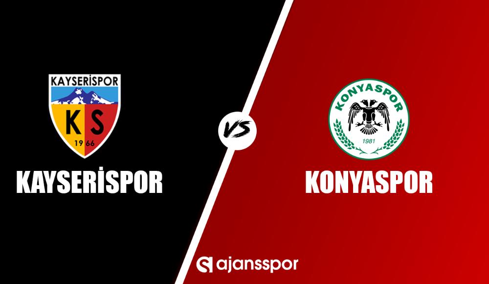 Kayserispor - Konyaspor (Canlı Skor)