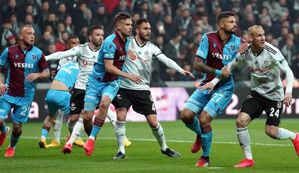 Beşiktaş farkı kaçırdı, Trabzonspor 1 puanı kaptı