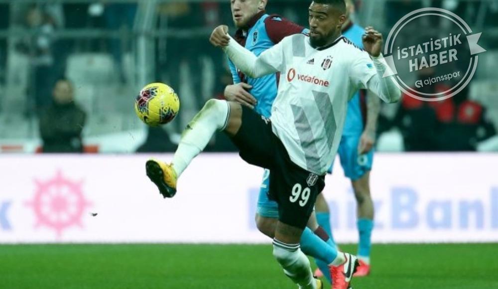 Beşiktaş'a şut rekoru yetmedi