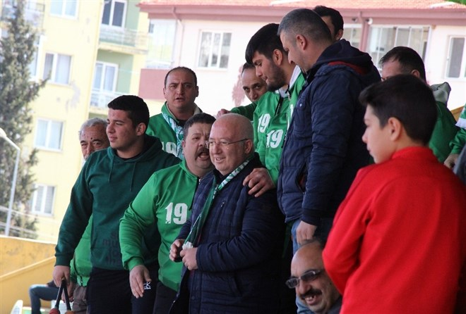 Muğlasporlu futbolcular'dan protesto!