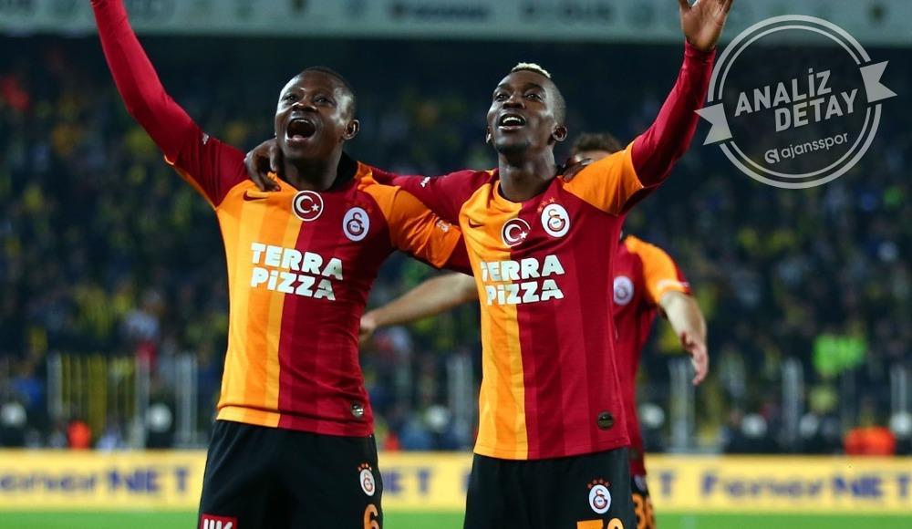 İşte Galatasaray'ın o serileri! Son 20 yılda...
