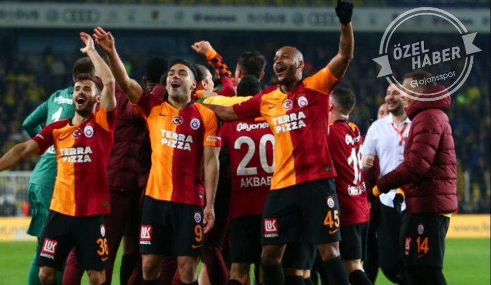Galatasaray uçuyor