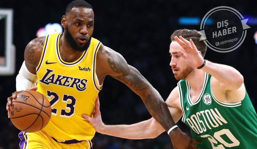 Gecenin maçını Lakers kazandı