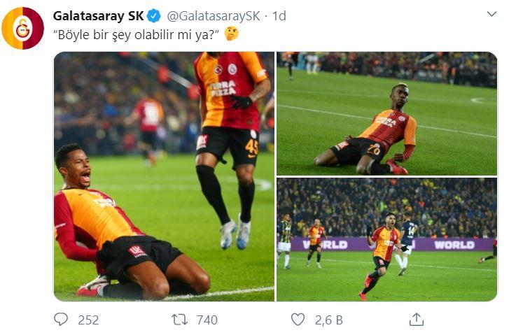 Galatasaray'dan Ozan Tufan üzerinden gönderme
