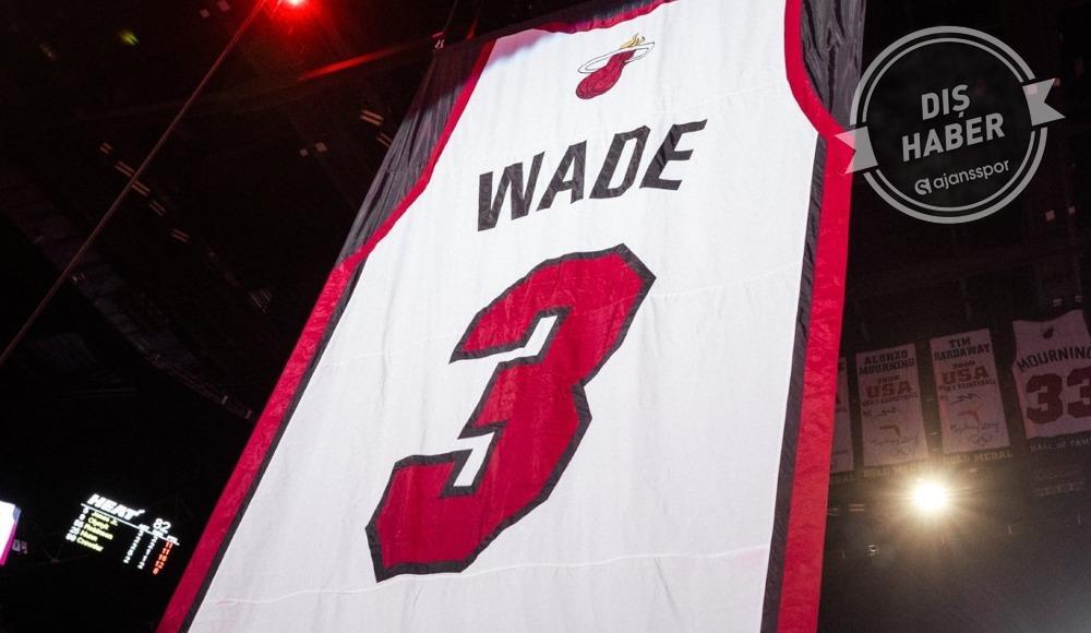 Wade'in forması emekliye ayrıldı