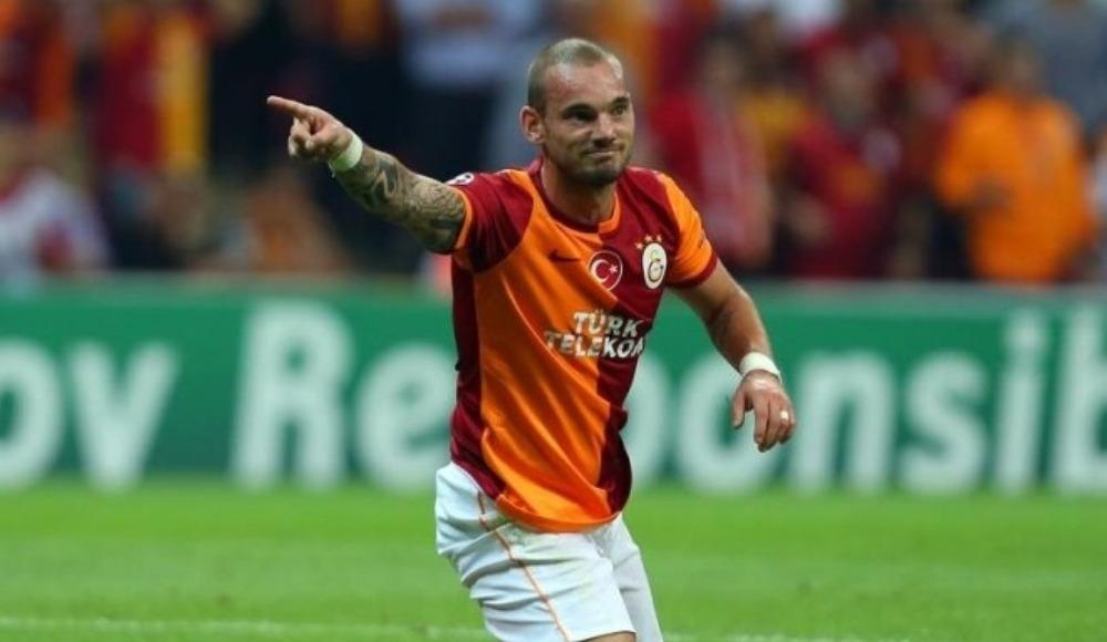 """Sneijder: """"Ağlama."""""""