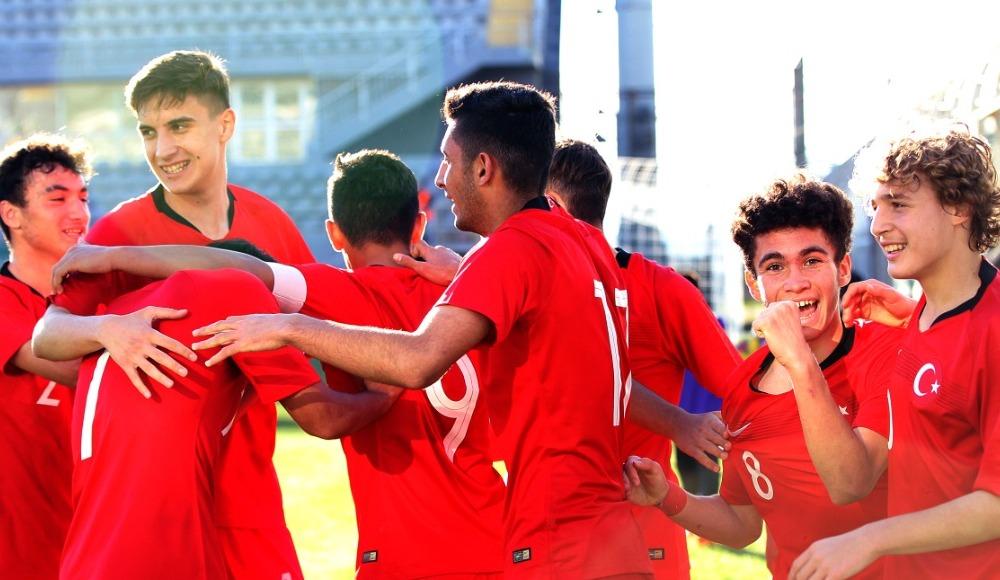 U16 Milli Takımımız, Paraguay'ı 1-0 yendi