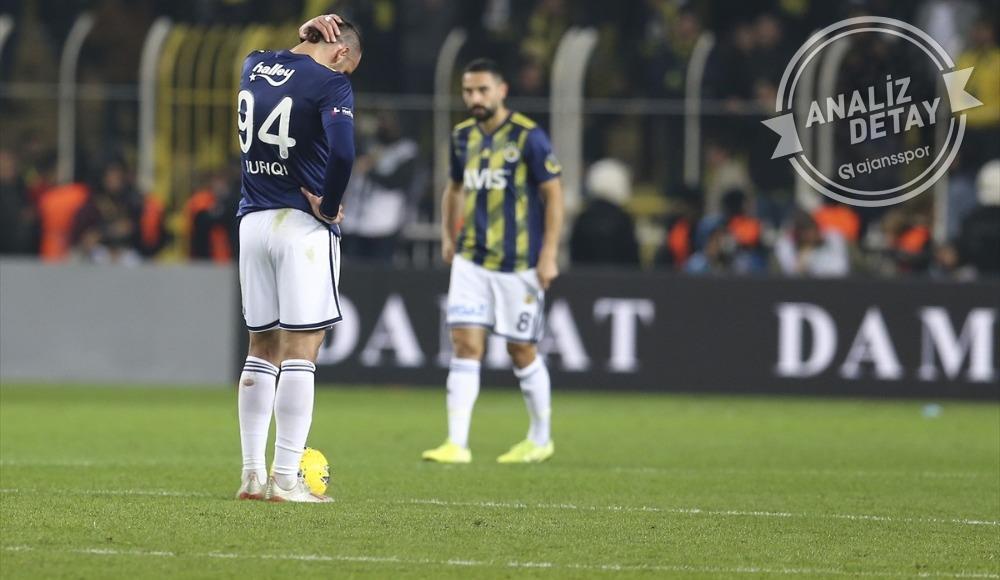 Fenerbahçe'de büyük çöküş!