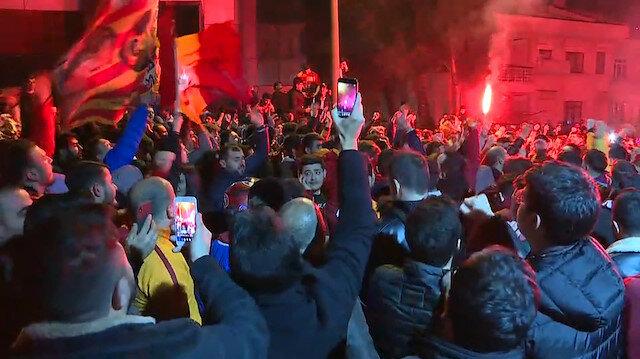 Demek Fenerbahçe'yi yenmek böyle bir şeymiş!