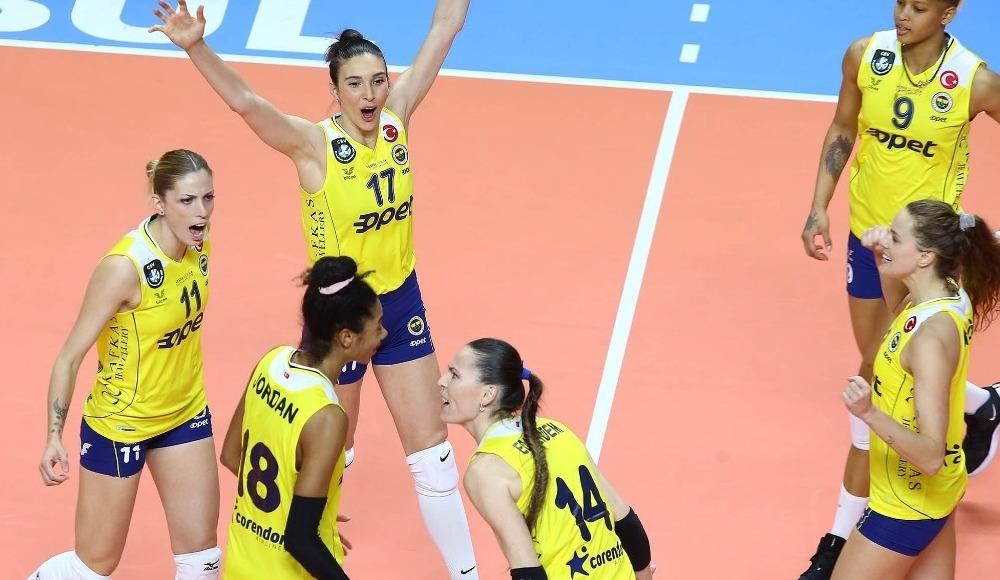 Fenerbahçe Opet, Aydın Büyükşehir Belediyespor'u 3-1 yendi