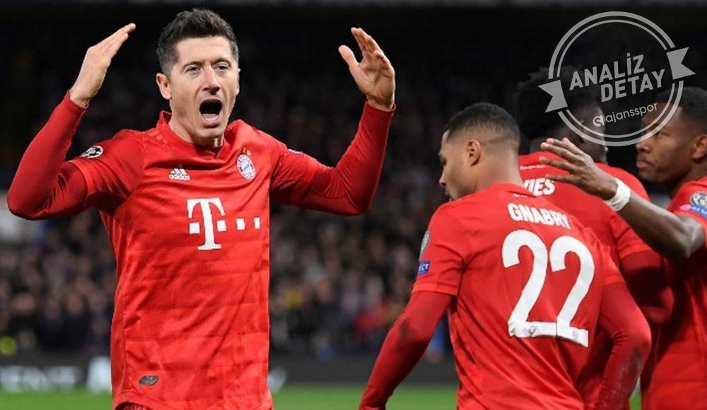 Londra'nın kabusu Bayern Münih