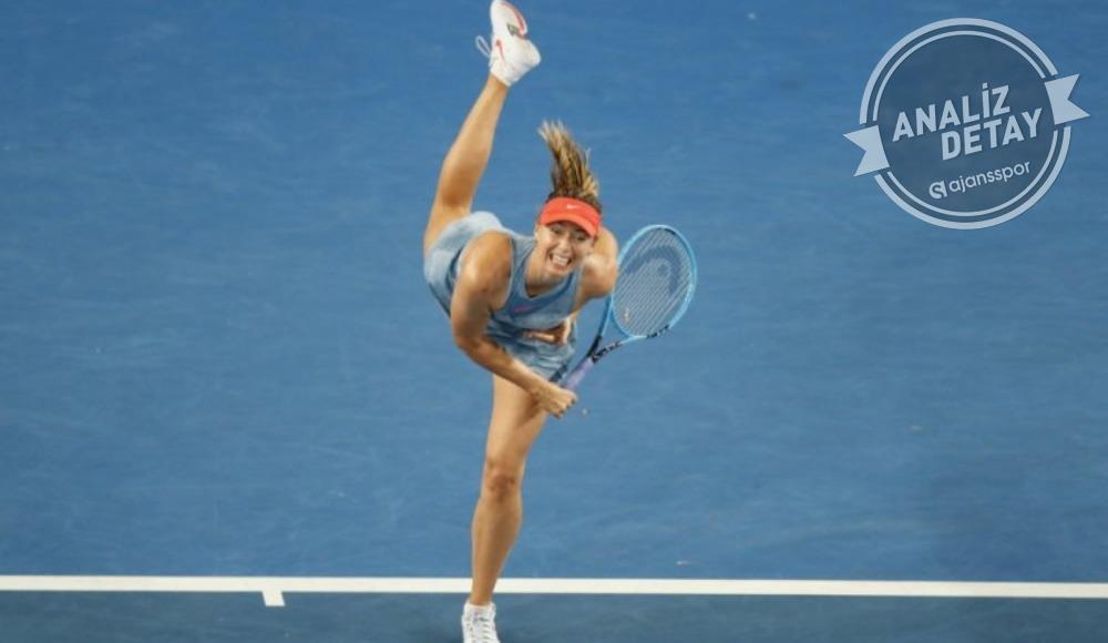 Sharapova'dan 325 milyon dolarlık servis