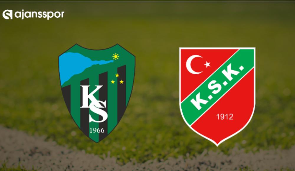 Kocaelispor Karşıyaka maçı ne zaman saat kaçta hangi kanalda?