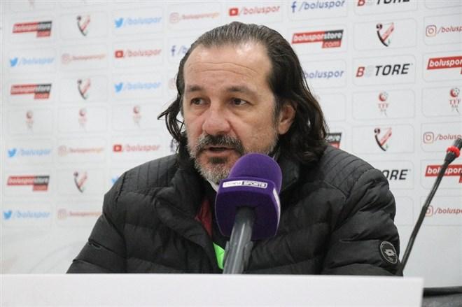 """Yusuf Şimşek: """"Boluspor bizi yenebilirdi"""""""