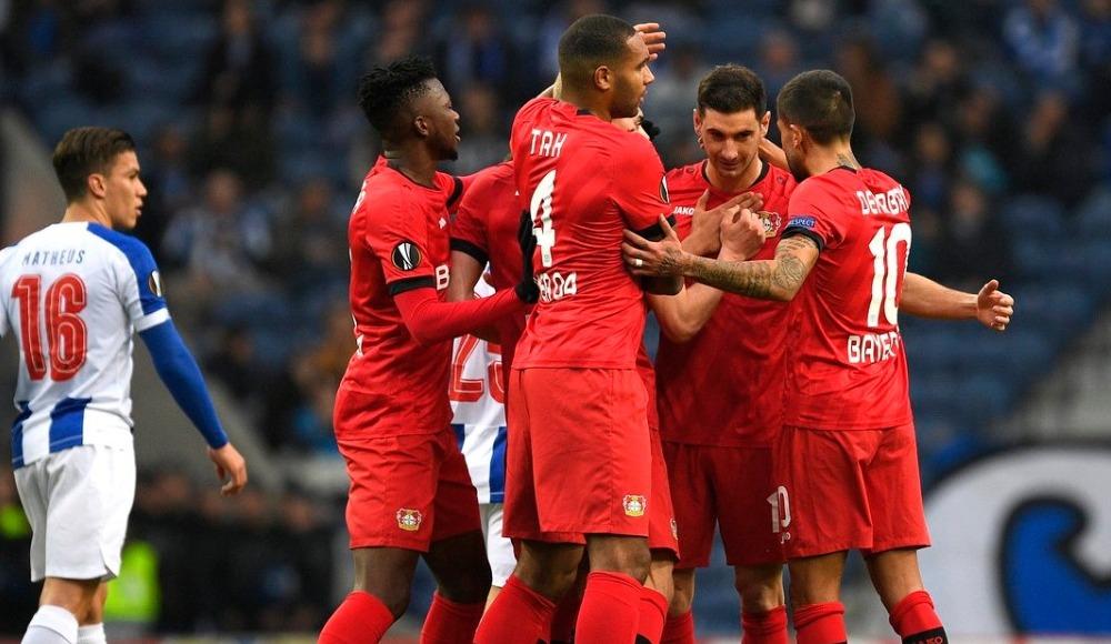 Bayer Leverkusen, Porto'yu kupanın dışına itti: 1-3