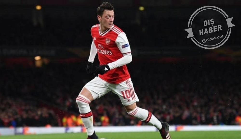 Mesut Özil, Arsenal'dan ayrılıyor mu? Resmi açıklama...