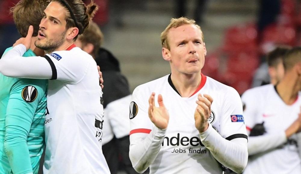 Eintracht Frankfurt, üst tura yükseldi!