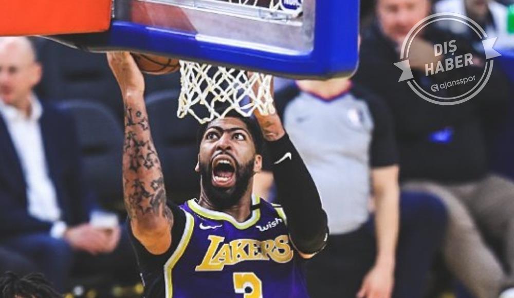 LeBron'suz Lakers Davis ile kazandı