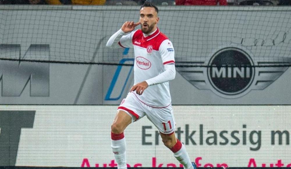 Kenan Karaman'ın iki golü Düsseldorf'a yetmedi!