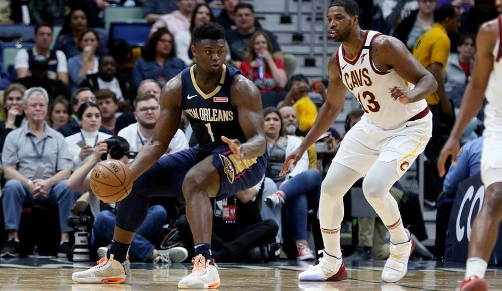 NBA'de Pelicans, Cavaliers'ı devirdi