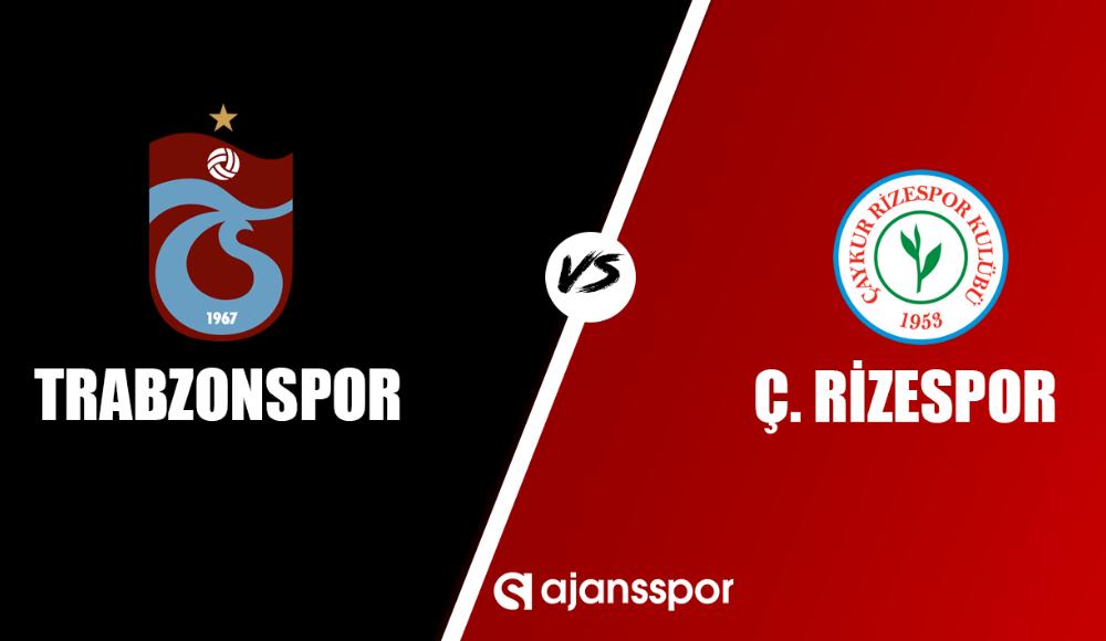 Trabzonspor - Çaykur Rizespor (Canlı maç izle)