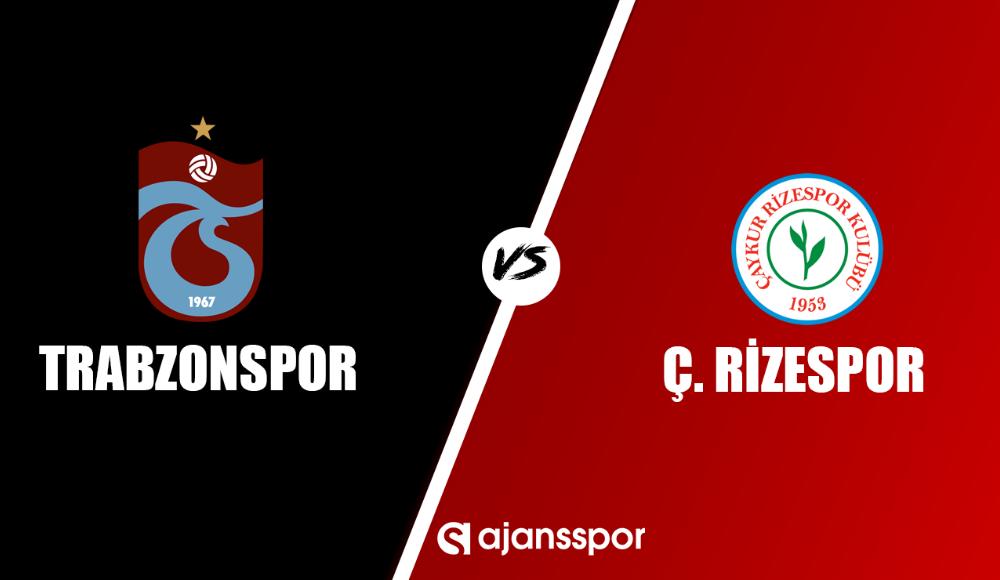 Trabzonspor - Çaykur Rizespor (Maç izle)