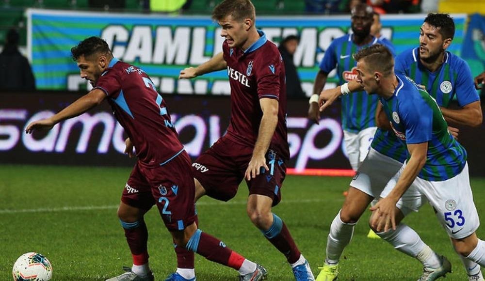 Trabzonspor - Çaykur Rizespor (Canlı maç seyret)