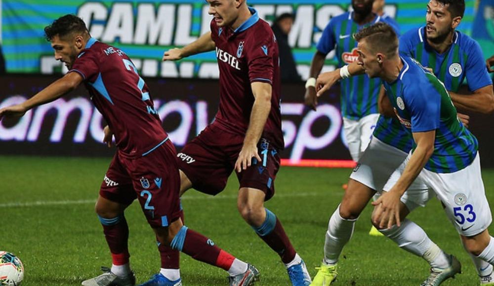 Trabzonspor - Çaykur Rizespor (Maçı naklen seyret)