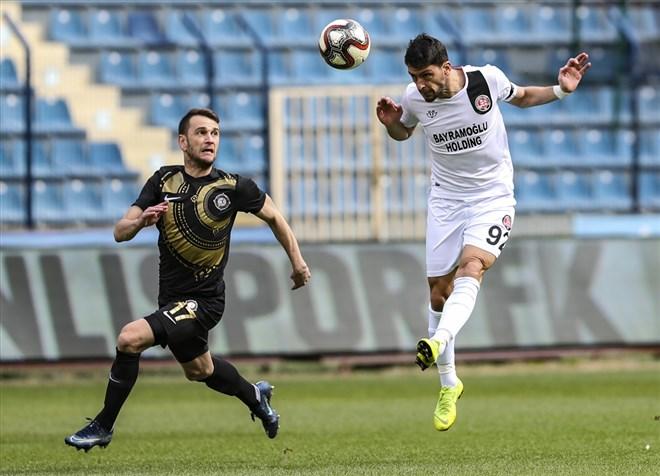 Osmanlıspor ile Fatih Karagümrük yenişemedi: 1-1