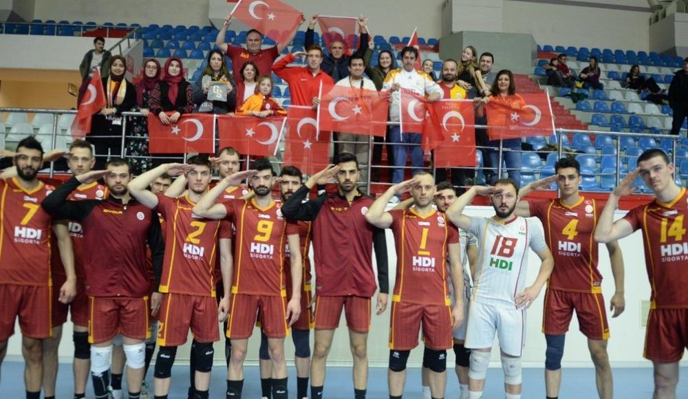 Galatasaray HDI Sigorta, Mehmetçiği unutmadı!