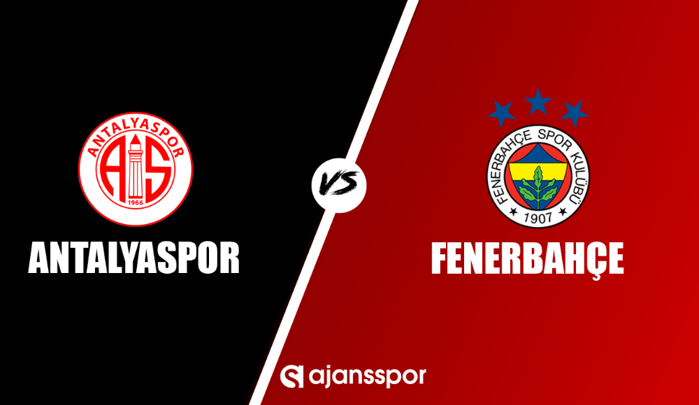 Antalyaspor - Fenerbahçe (Canlı maç izle)