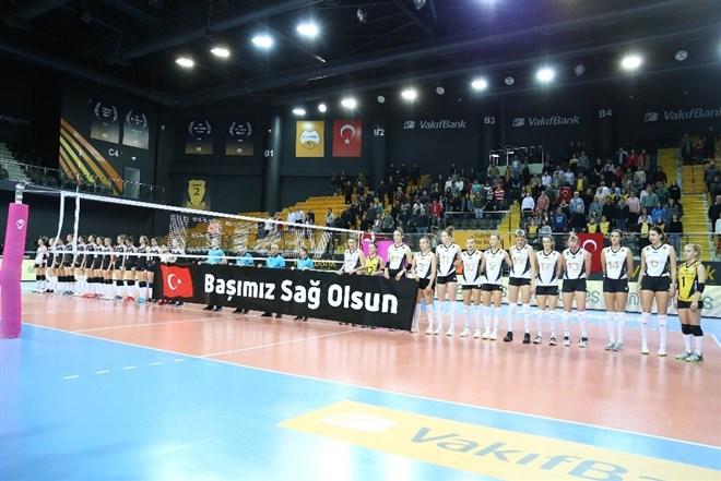 VakıfBank, Beşiktaş'a set vermedi