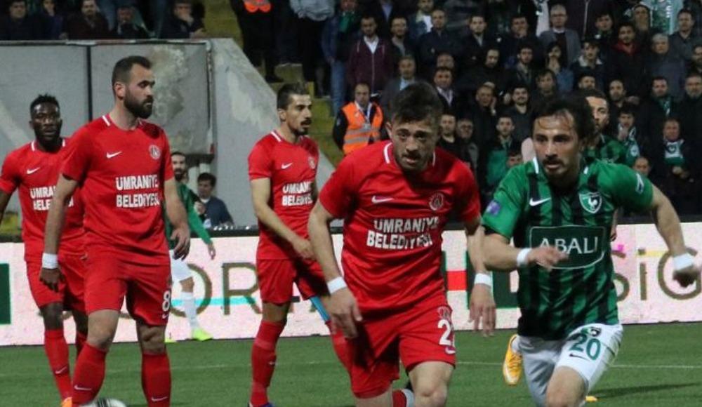 Ümraniyespor - Bursaspor (Canlı Skor)