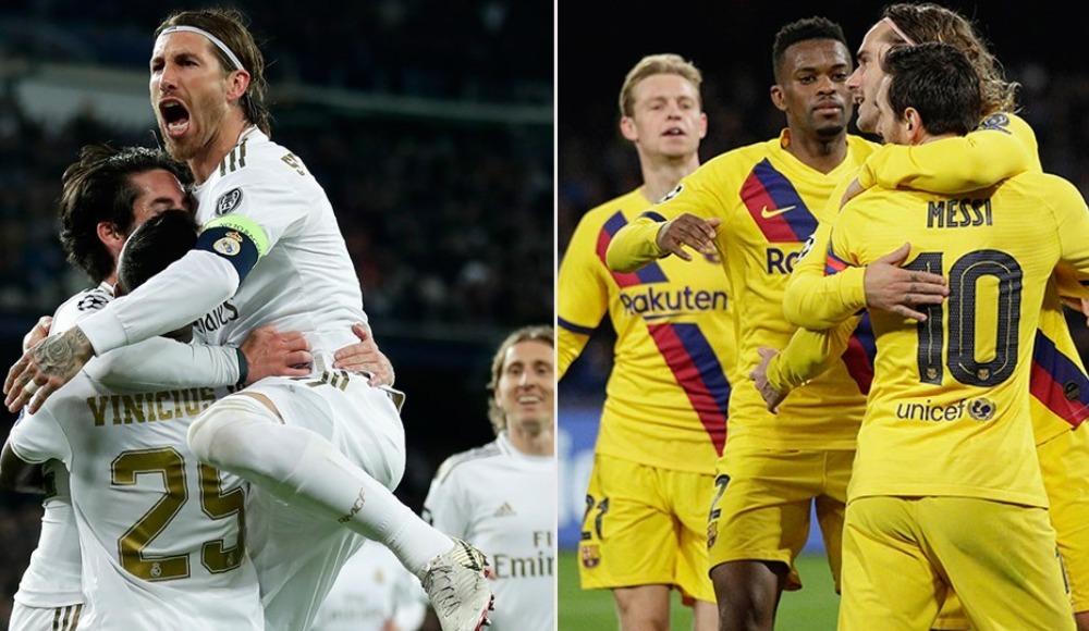 CANLI İZLE: Real Madrid Barcelona