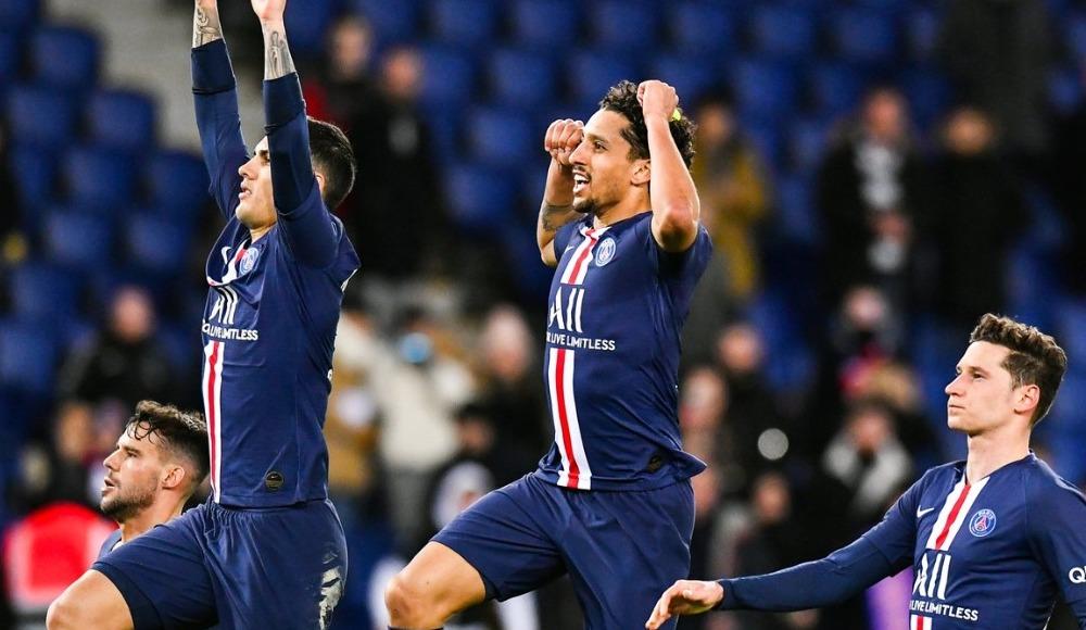 PSG, Dijon'u 4 golle geçti
