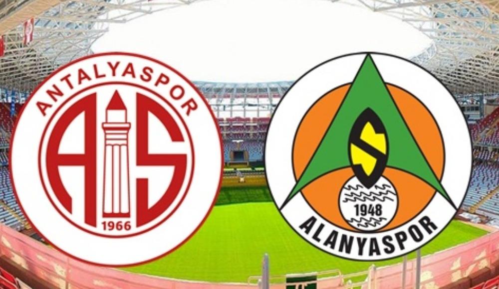 Antalyaspor - Alanyaspor maçı hakemleri açıklandı
