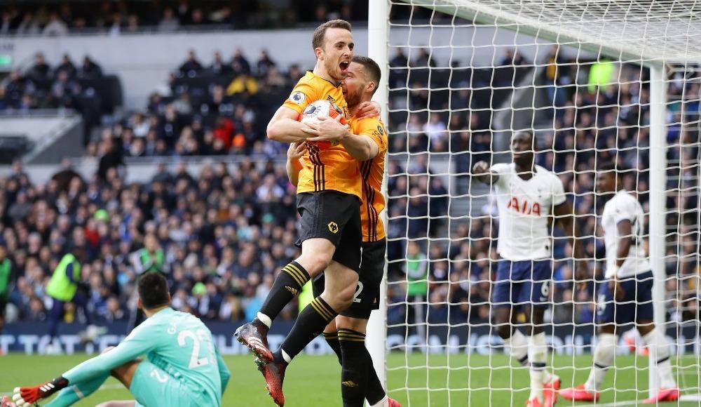 Wolverhampton geriden gelip Tottenham'ı yıktı!