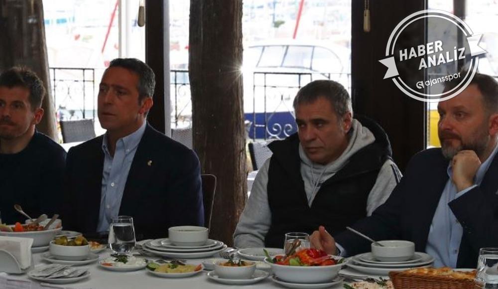 O fotoğraf her şeyi anlatıyordu! Ali Koç ve Ersun Yanal...
