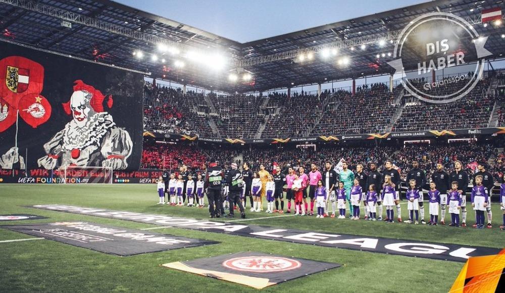 Koronavirüsü Avrupa Ligi'ne sıçradı! Salzburg - Eintracht Frankfurt...