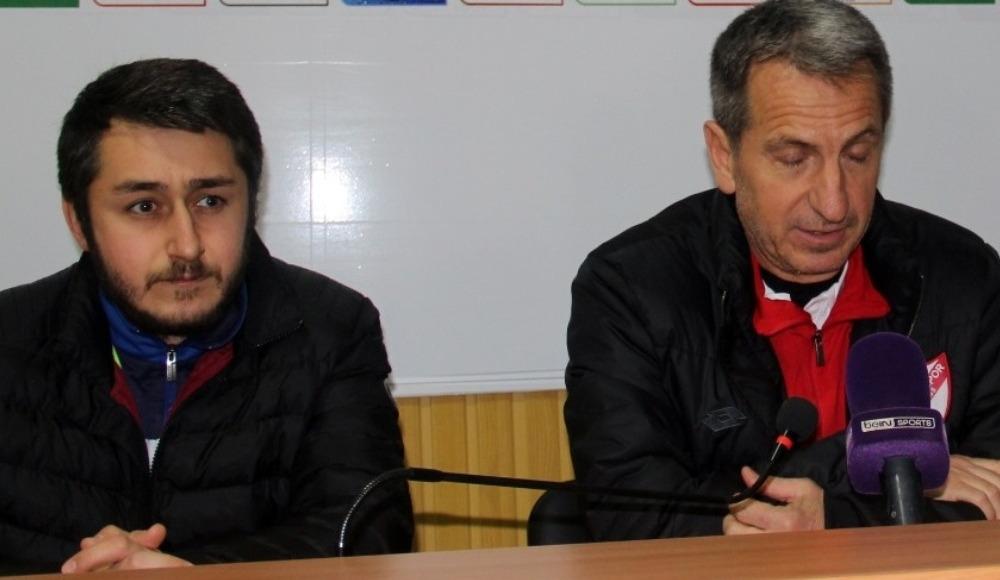 """Tamer Avcı: """"Boluspor'u buradan çıkaracağız inşallah"""""""