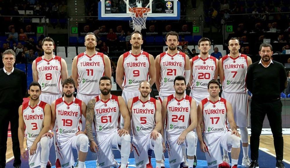 A Milli Erkek Basketbol Takımı'nın kaçıncı sırada olduğu açıklandı