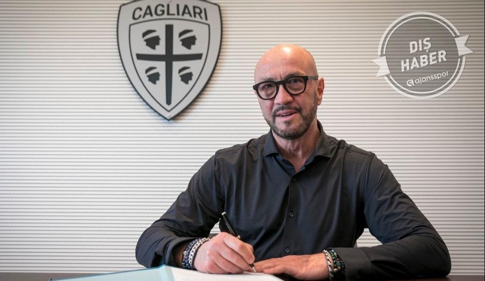 Cagliari'nin yeni teknik direktörü belli oldu